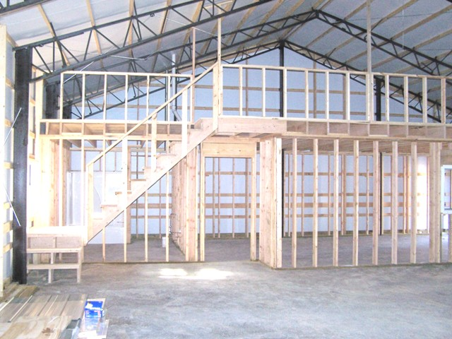 Metal building company in arkansas amko buildings are Steel building with living quarters
