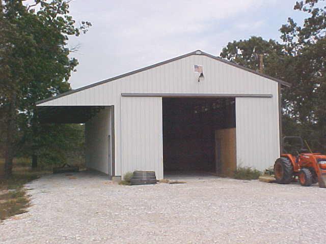 Ham pole barn construction oklahoma for Metal homes in oklahoma