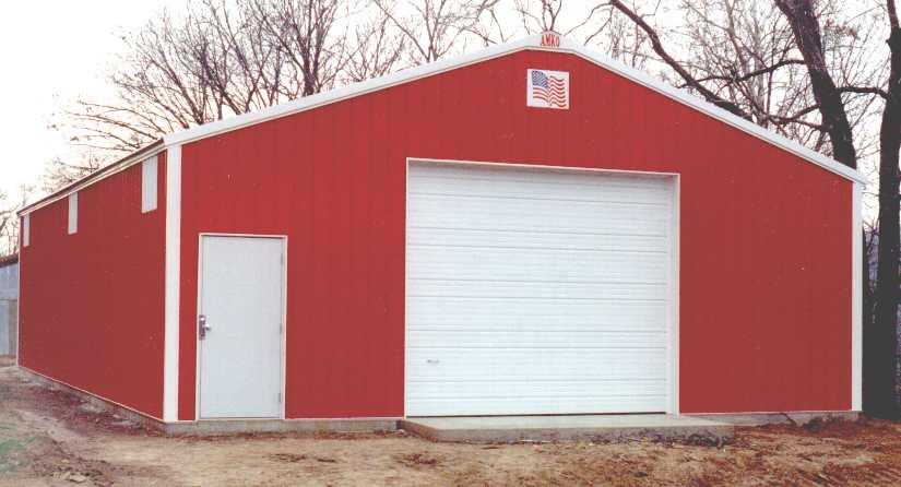 Amko Metal Buildings In Nw Arkansas Fully Custom Built To