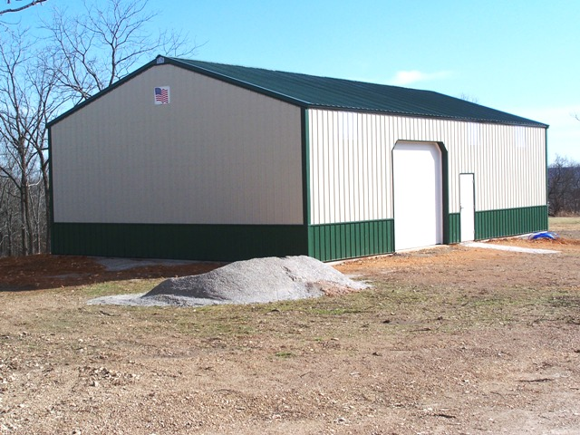 Arkansas nw arkansas garage and shop buildings for Large garage for sale