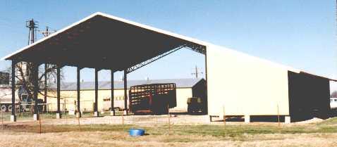 Farm Building Construction Arkansas Amko Metal Buildings