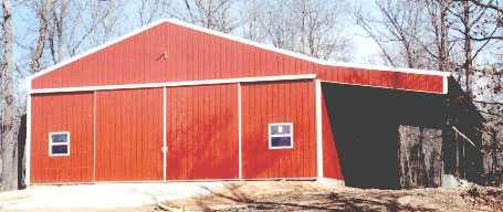 AMKO Metal Buildings in NW Arkansas, fully custom-built to ...